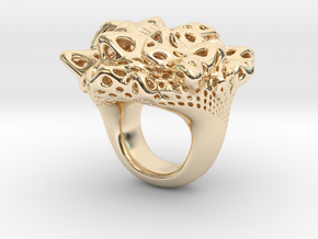 Nebula Ring in 14K Yellow Gold