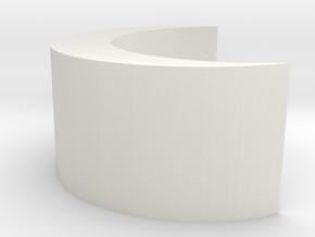Obesemoon in White Natural Versatile Plastic