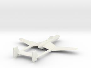 1/200 Vultee XP-54 Swoose Goose in White Natural Versatile Plastic