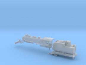N-Scale Rio Grande L-77 2-6-6-0 Steam Locomotive in Smooth Fine Detail Plastic