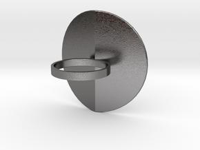 O'Leaf in Polished Nickel Steel