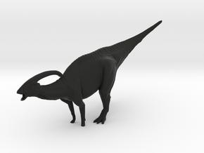 1/72 Parasaurolophus - Hooting in Black Strong & Flexible