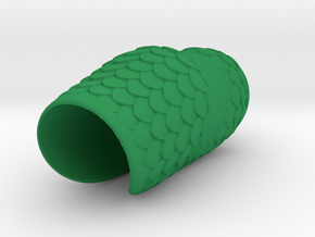 SaddleGrip 22mm Scaled in Green Processed Versatile Plastic