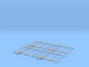 Bühnengeländer 1:32/1:35 4x in Smooth Fine Detail Plastic