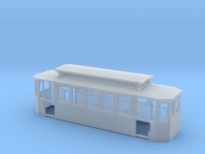Wien Beiwagen d2 Wagenkasten in Smooth Fine Detail Plastic