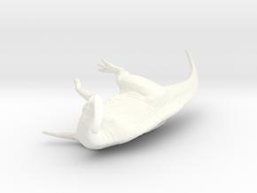 1/72 Parasaurolophus - Dust Bath in White Processed Versatile Plastic