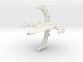 RomTross Class Cruiser in White Strong & Flexible