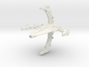 RomTross Class Cruiser in White Natural Versatile Plastic