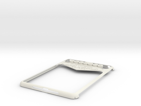 Ipad Mini Vegas Case (repaired) in White Natural Versatile Plastic