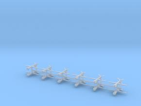1/600 MQ-1C Grey Eagle (x12) in Smooth Fine Detail Plastic