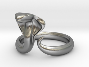 Cobrah ring size 14 in Raw Silver