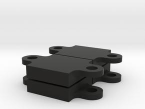 Alpha Gel - Mount 3 - 4 pcs in Black Strong & Flexible