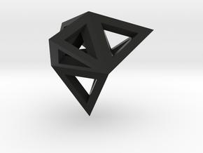 tetraeder mit tetraedern in Black Strong & Flexible