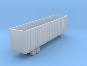 48 foot WoodChip Trailer - Zscale in Frosted Ultra Detail