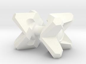 Ghost in White Processed Versatile Plastic