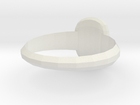 Medici Family Ring3 in White Natural Versatile Plastic