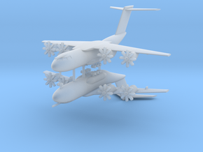1/600 Airbus A-400M Atlas (x2) in Smooth Fine Detail Plastic