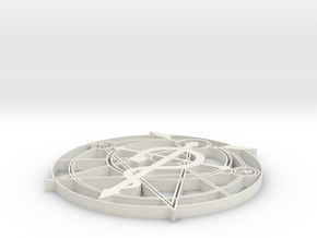 FMA symbol in White Natural Versatile Plastic