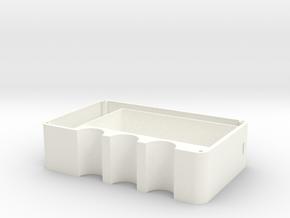 DNA Box mod dual 18650 batteries  in White Processed Versatile Plastic