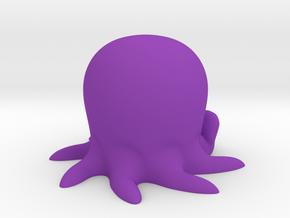 DeskOctopus  in Purple Processed Versatile Plastic
