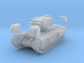 Tank- Churchill Mk III (1/87th) in Smooth Fine Detail Plastic