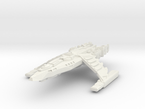 Z-1 Nova Class XV Battleship in White Natural Versatile Plastic