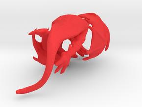 Western Dragon Gripper 22mm in Red Processed Versatile Plastic