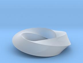 Mobius Loop - Square 3/4 twist in Smooth Fine Detail Plastic