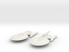 Griffin Class Cruiser & Griffin Class Refit Fast C in White Strong & Flexible