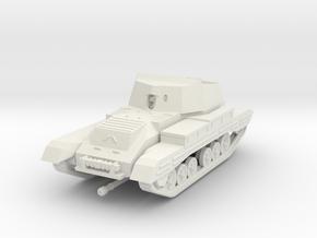 Vehicle- Valentine Archer Tank (1/87th) in White Natural Versatile Plastic