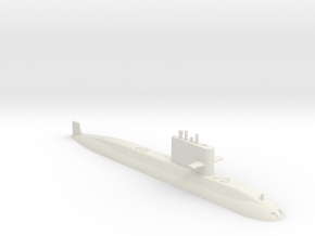 1/700 Type 039A Class Submarine (Waterline) in White Natural Versatile Plastic