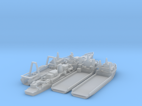 Cod War Set 3 - 1/1250  in Smooth Fine Detail Plastic