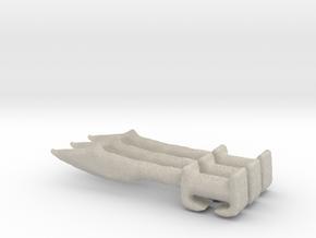 Hoplite sword greek  in Sandstone