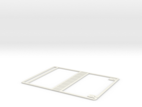 Moleskine Skeleton Cover in White Natural Versatile Plastic