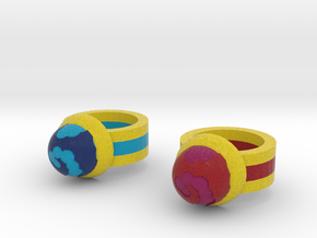 Zelda Fan Art: TLoZ: Rings in Full Color Sandstone