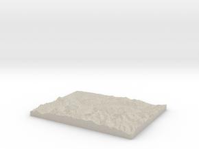 Model of Gündlischwand in Natural Sandstone