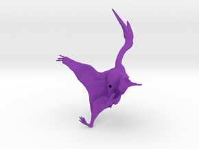 Quetzalcoatlus 1:72 scale model in Purple Strong & Flexible Polished
