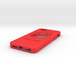 U Of Georgia Case IP5 in Red Processed Versatile Plastic