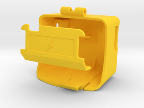 Power Battery door Upgrade-Kit in Yellow Strong & Flexible Polished