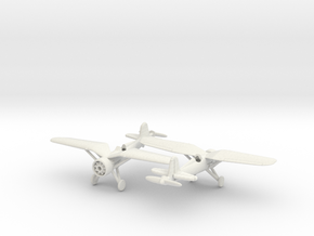 1/240 PZL-P11 in White Natural Versatile Plastic