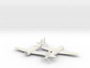 1/240 Romanian IAR-80  in White Natural Versatile Plastic