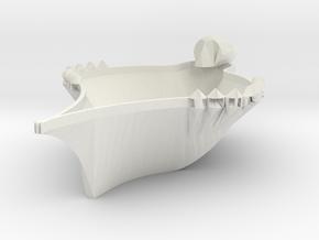 Duck Bowl in White Natural Versatile Plastic