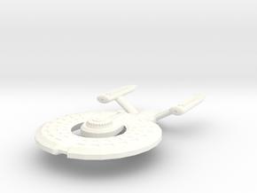 USS Sakasha in White Processed Versatile Plastic