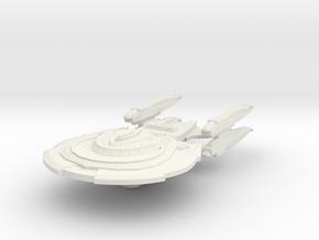 Hunter Class AssaultCruiser in White Natural Versatile Plastic