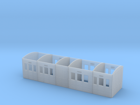 MSLR/GCR Tri-composite Coach body in Smooth Fine Detail Plastic