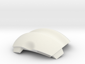 NSphere Thick (tile type:1) in White Natural Versatile Plastic