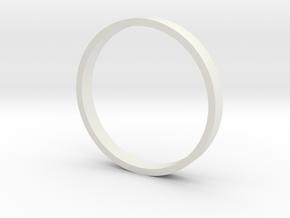 Turret Ring Adapter Tamiya-M51 to Tasca Hull 1/35  in White Natural Versatile Plastic