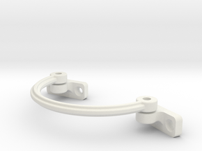 32 mm Arc - Cantilever Arm Assembly For 2mm Bolt & in White Natural Versatile Plastic