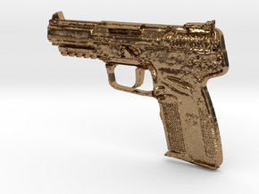 FN Five Seven 5,7mm x 28mm in Natural Brass