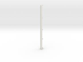 16mm X 320 Skid Protector in White Natural Versatile Plastic